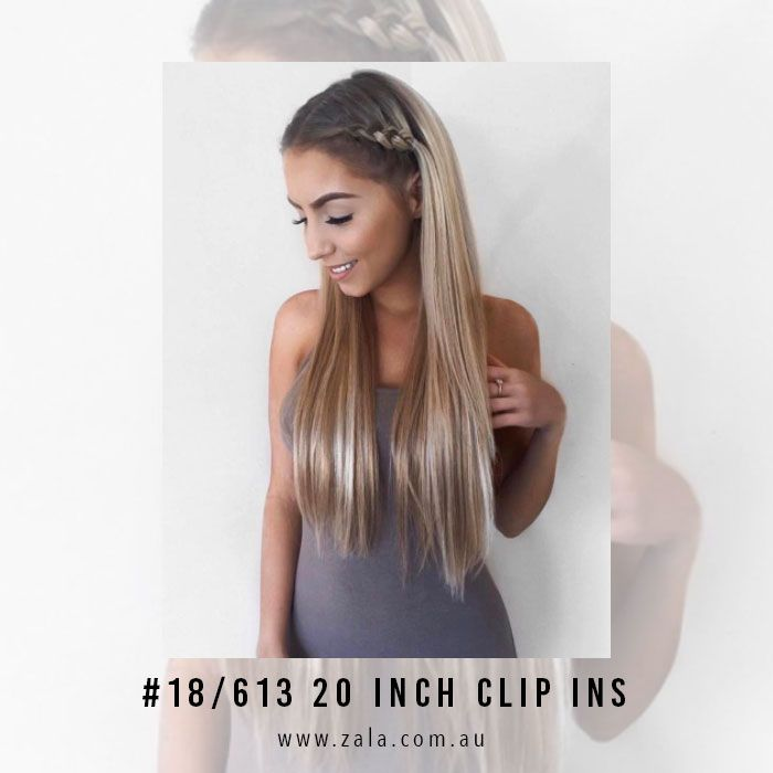 20 Inch Hair Extensions The Most Popular Length At Zala