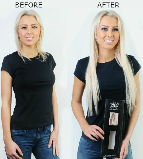 Short to long hair with extensions by zala short to long hair pmusecretfo Images
