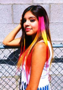 Bright-Color-Hair-Extension