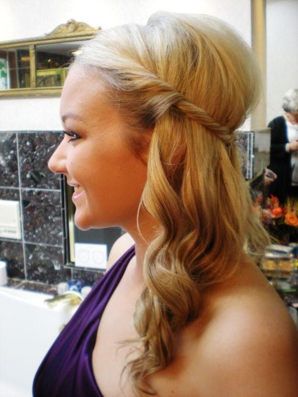 hair style on the side create five hair styles with clip in hair extensions 3620