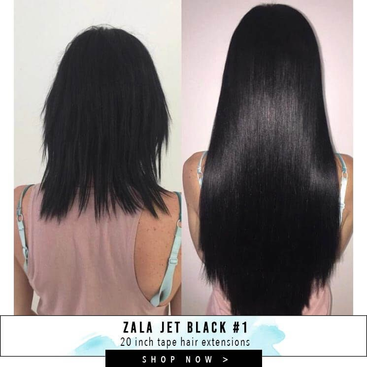 New Zala Tape Hair Extensions Range Best Hair On The Market