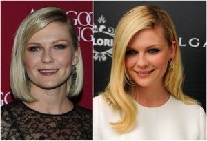 Kirsten Dunst- Hair length comparison