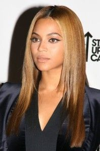 sleek straight hair to add to beyonce hairstyles