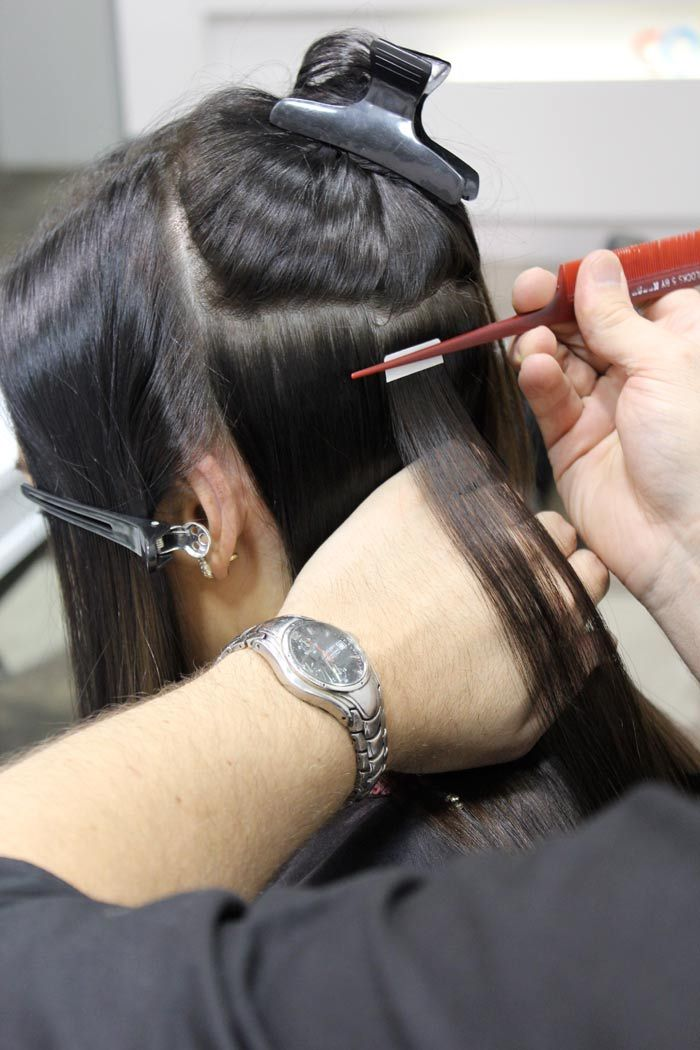 Clip In Hair Extensions Vs Tape Hair Extensions Zala Hair