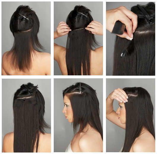 Hair Extension Clip 112