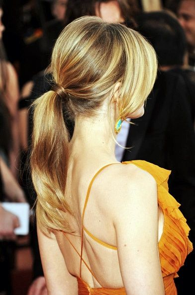 Get the look: Wrapped Ponytail