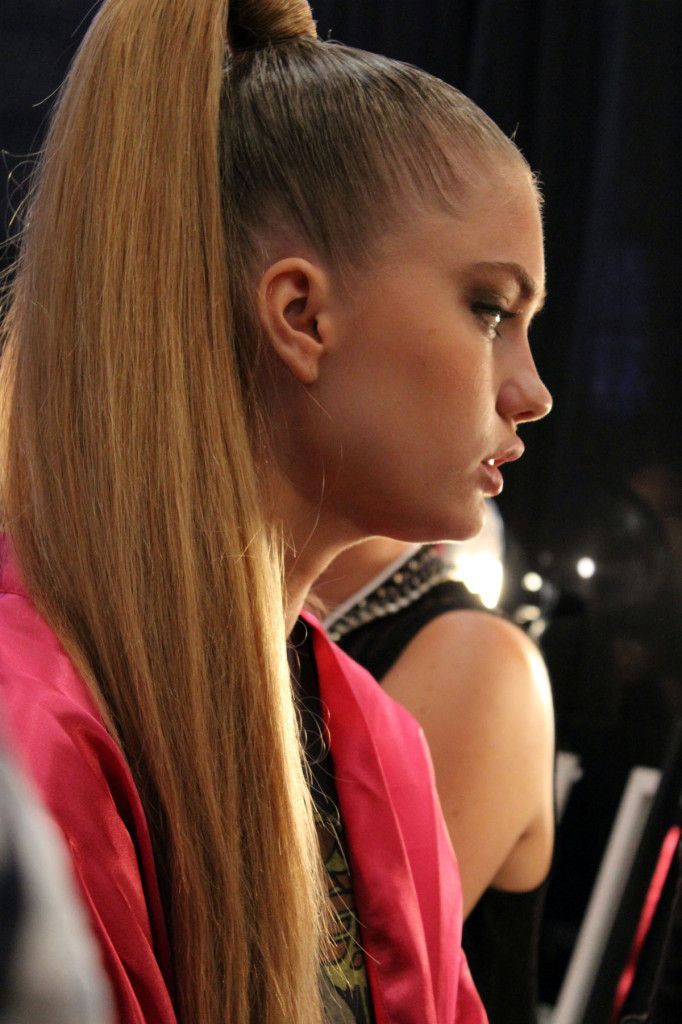 ponytail with clip in hair extensions