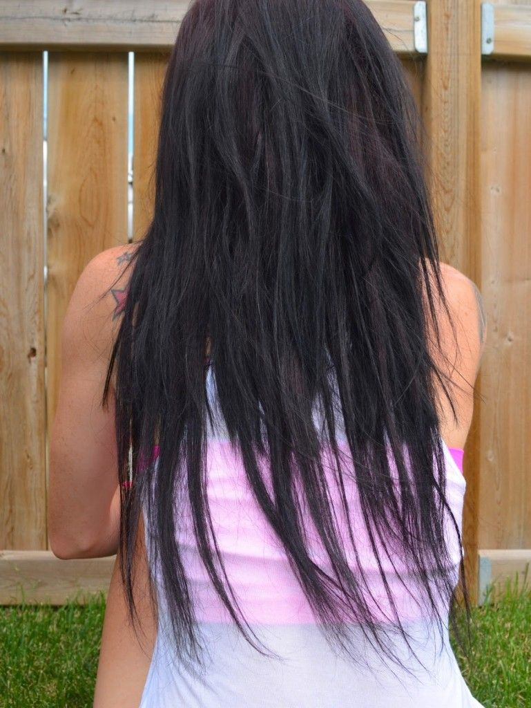 Unblended hair extensions