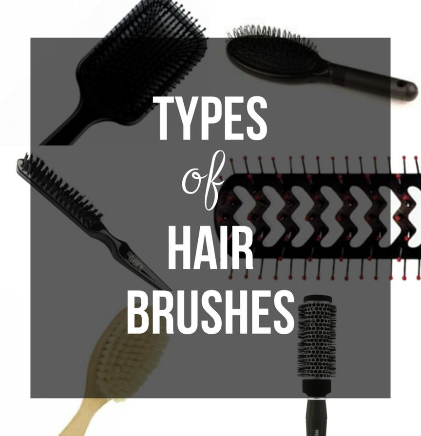 different types of hair brushes