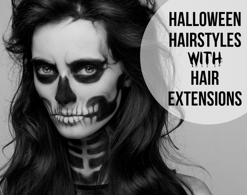 halloween hairstyles with hair extensions