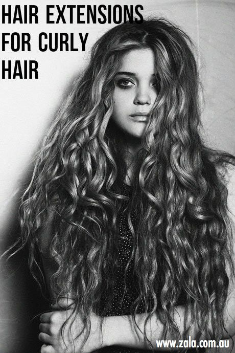 hair extensions for curly hair