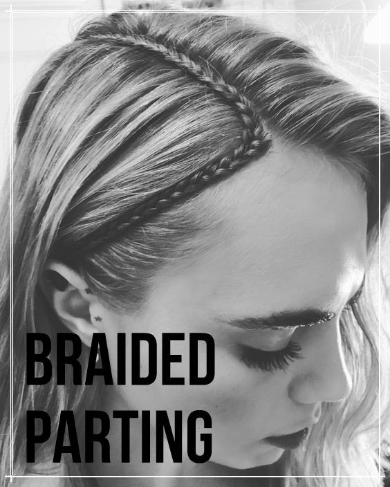 braided partings