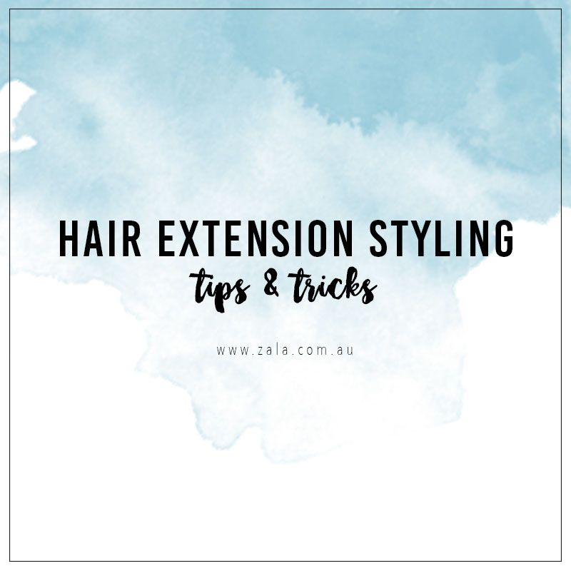 hair extension styling tips