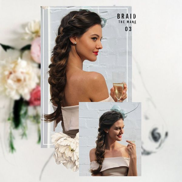 hairstyles for melbourne cup