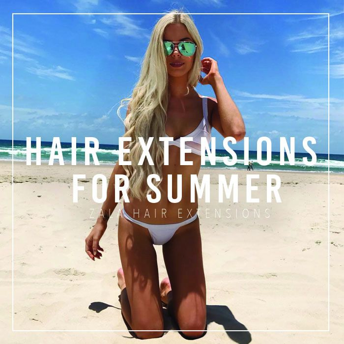 hair extensions for summer