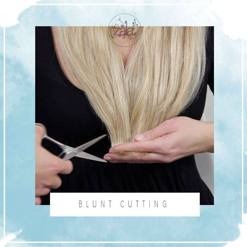how to cut hair extensions 5