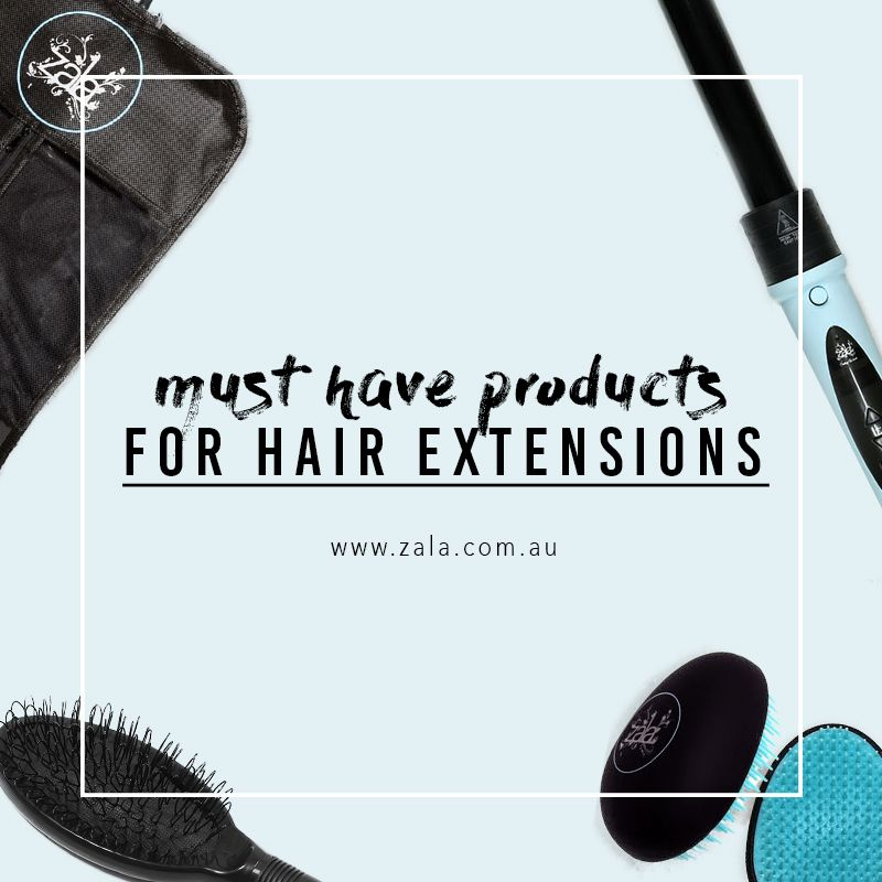 must have products for hair extensions