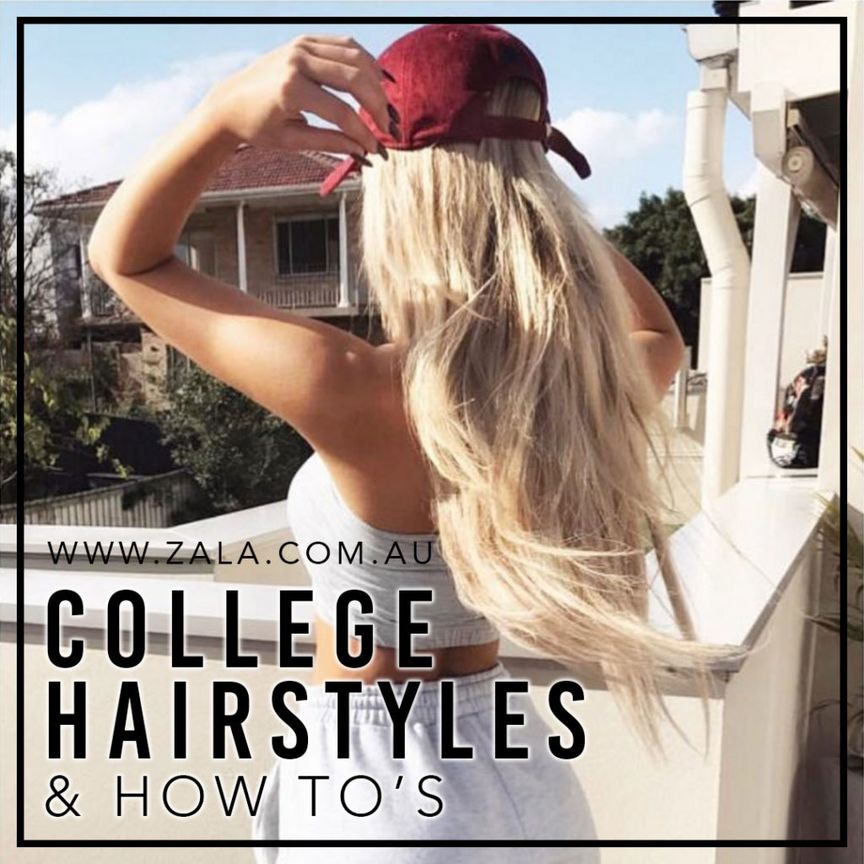 COLLEGE HAIRSTYLES