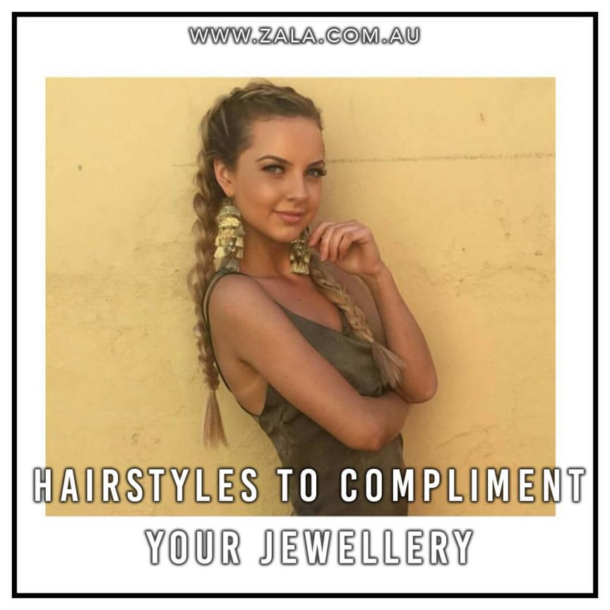 hairstyles to compliment your jewellery
