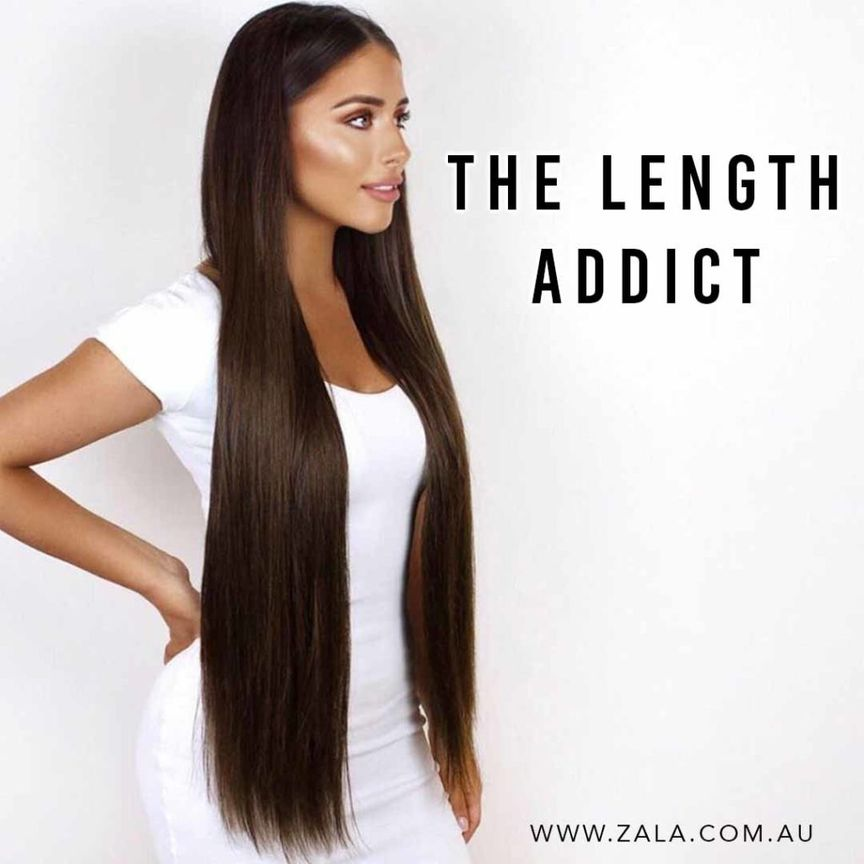 4 Kinds of Hair Extension Addicts