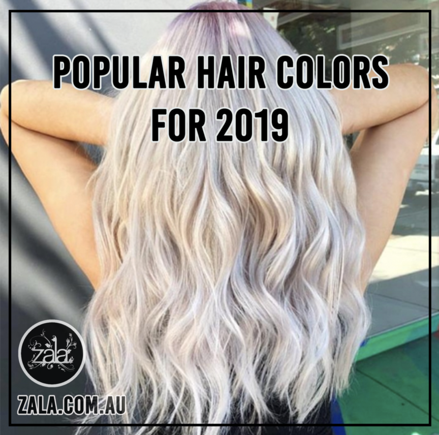 popular hair colors for 2019