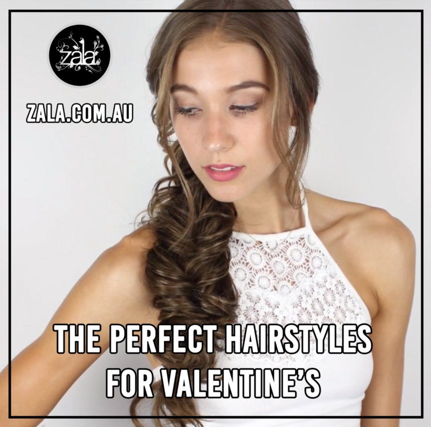 The Perfect Hairstyles For Valentine's
