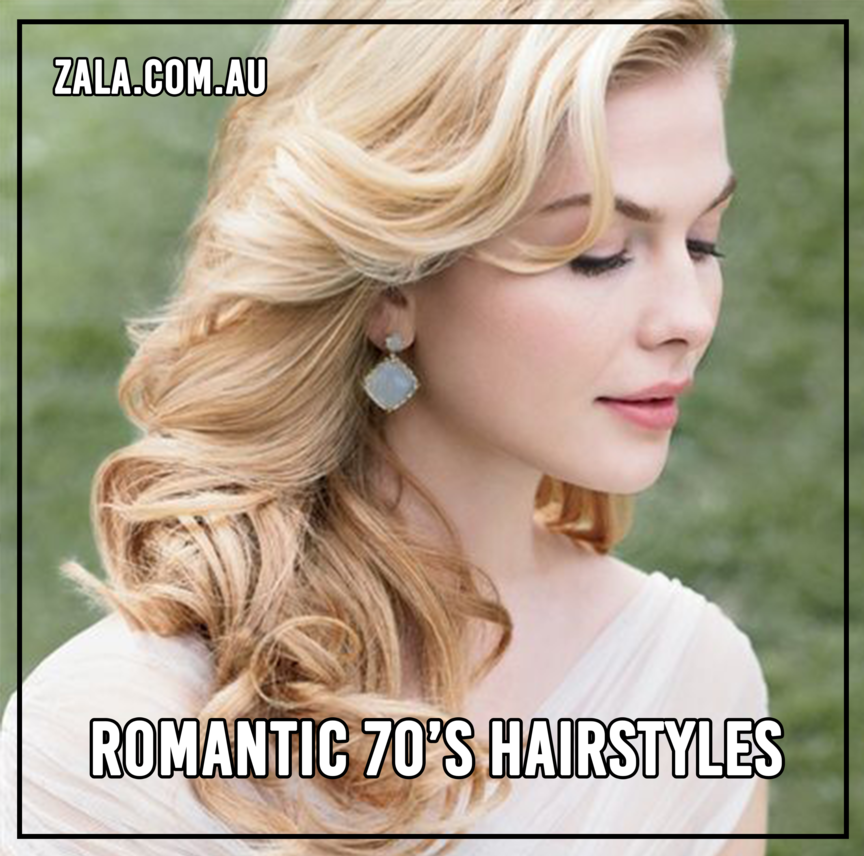 Romantic 70s Hairstyles Zala Clip In Hair Extensions