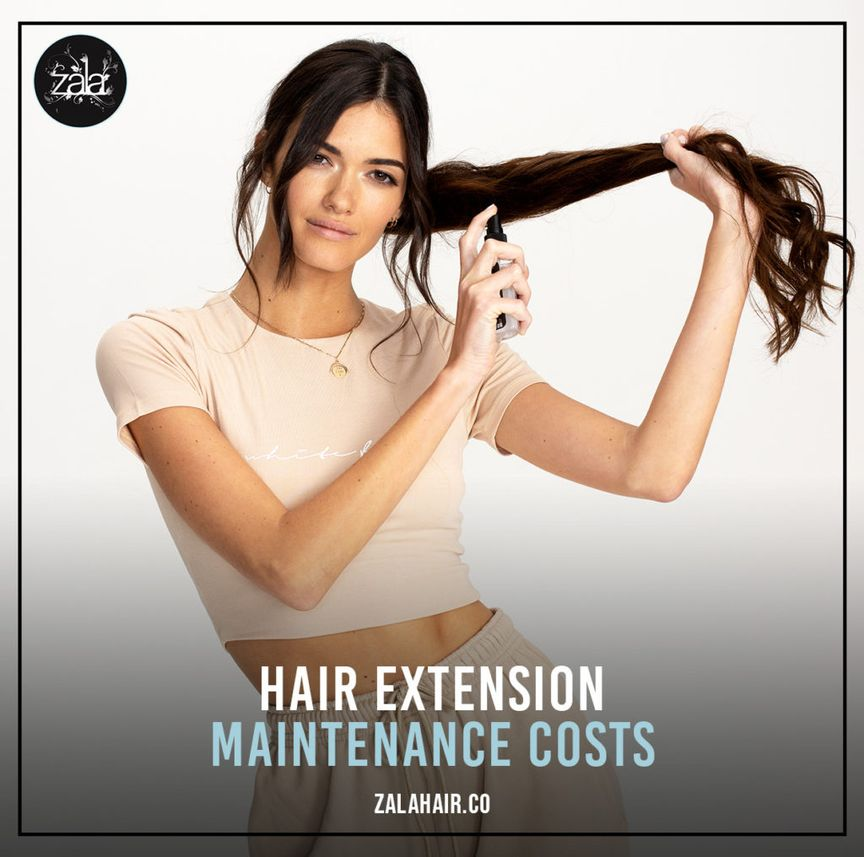 hair extension maintenance costs