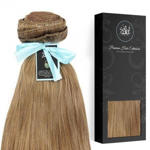 Zala Dirty Blonde 12 Clip In Hair Extensions 100 Human Remy