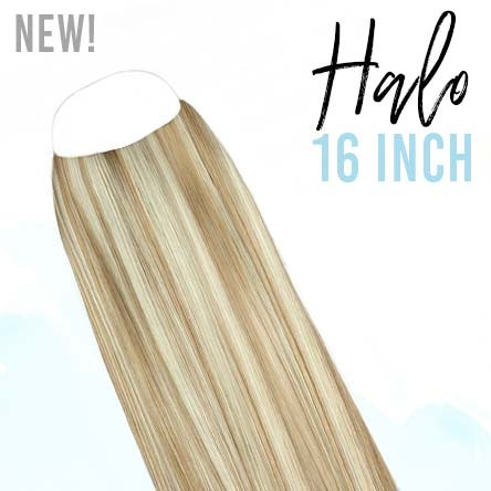 Halo Hair Extensions 16inch / 140gr / 100% Human Remy Hair