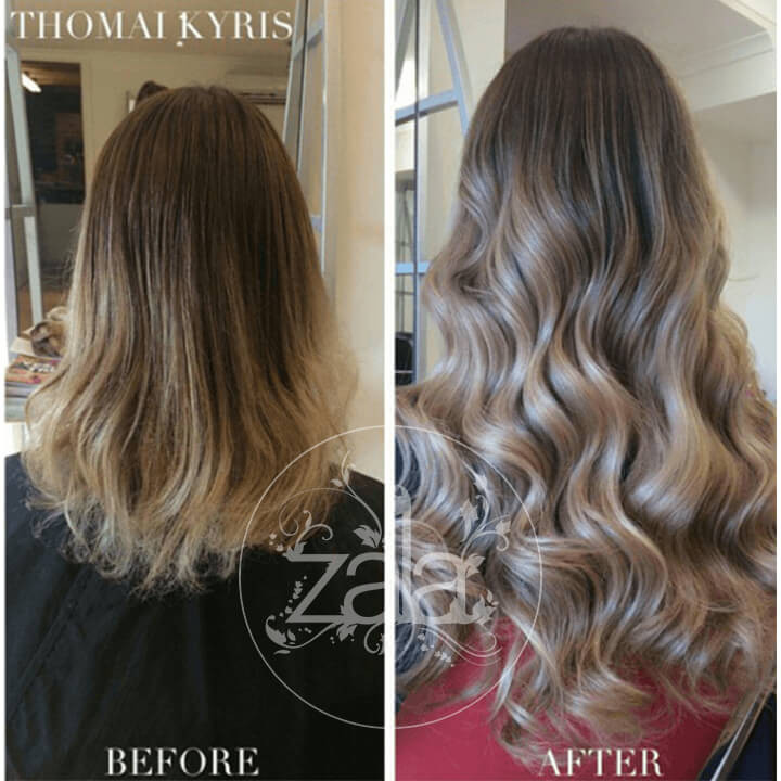 20 inch tape hair extensions made of human remy hair