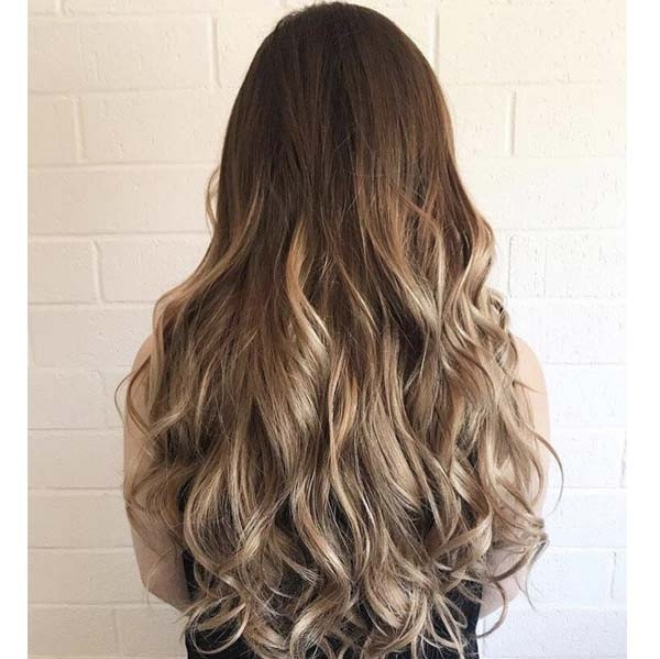 Dirty Blonde Clip In Human Hair Extensions 100 Triple Wefted Remy Hair