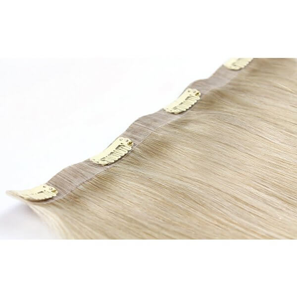 Seamless Volumizer One Piece Clip In Hair Extensions 20 Inch 60gr