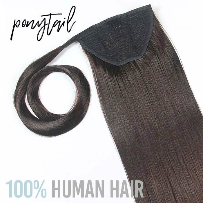 Pony Tail Clip In Hair Extensions 162226 Inch 120gr