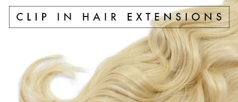 Clip in hair extensions by ZALA