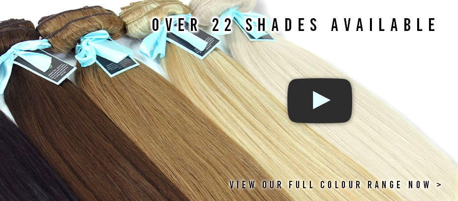 ZALA hair extensions colour range