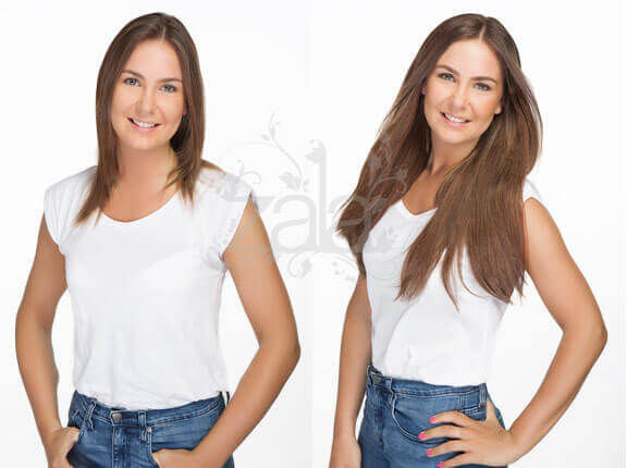 Before after zala hair extensions before and after 6 hair extensions pmusecretfo Gallery
