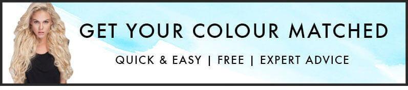 Match your hair extension colour