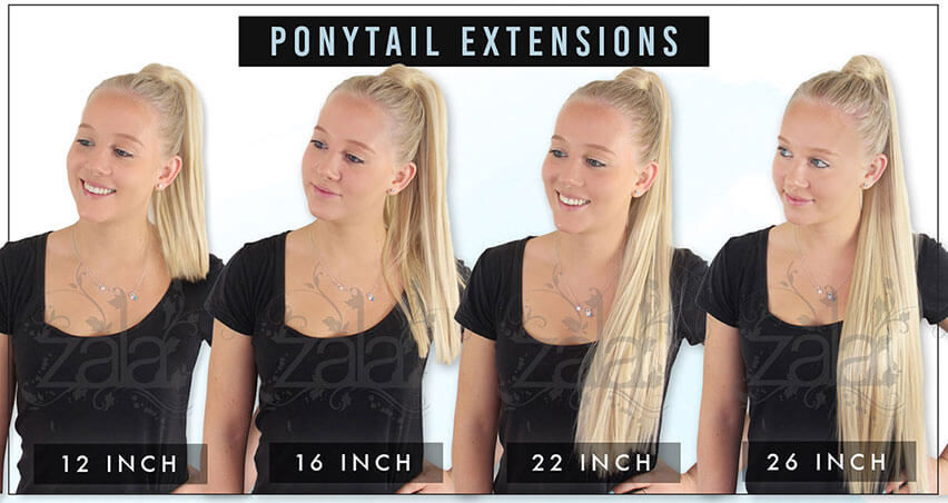 Clip In Ponytail Hair Extensions