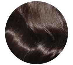 Jet black hair extensions #1