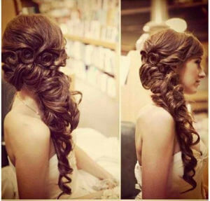 wedding hair styles, wedding hair extensions, bridal hair extensions