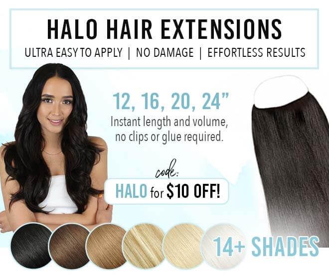 Halo Hair Extensions 100 Human Hair