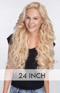 24 inch Clip hair extensions