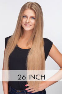 26 inch hair extensions Clip in