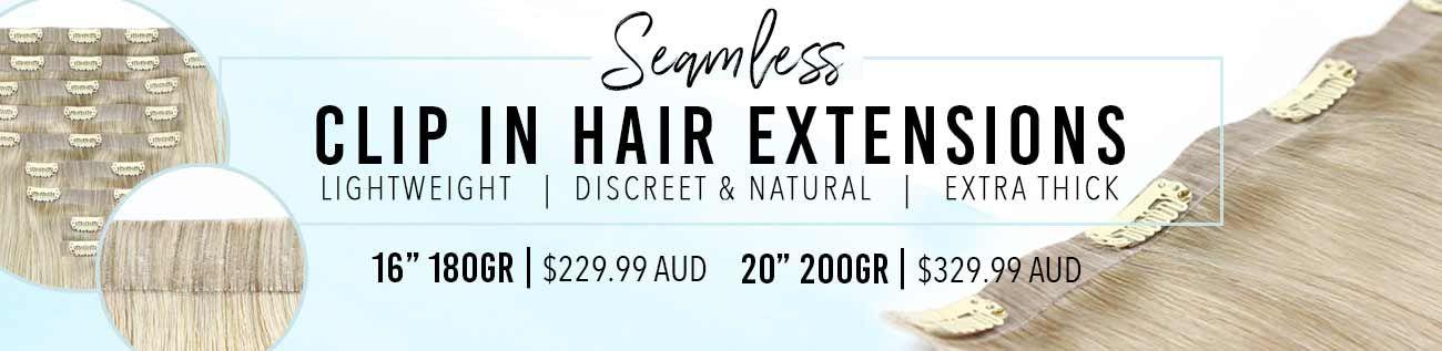 Seamless Clip Hair Extensions Hair Extensions