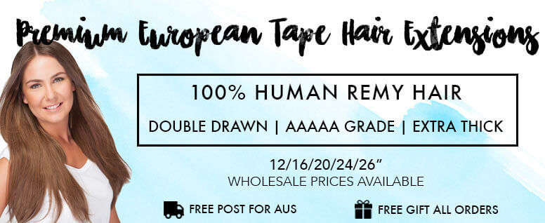 ZALA tape in hair extensions