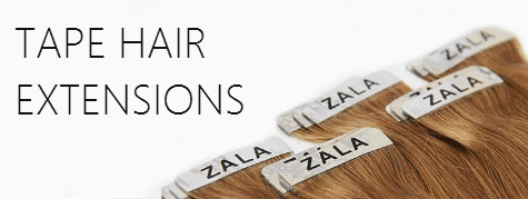 Tape in hair extensions by ZALA