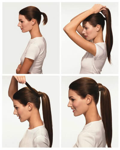 Pony tail clip in hair extensions 162226 inch 120gr zala clip in wrap ponytail hair extensions pmusecretfo Choice Image